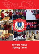 The Towers cover for annual spring term