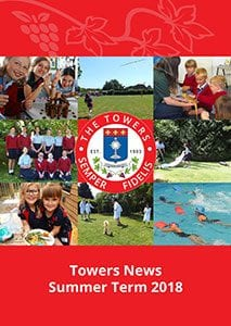 Towers news summer term 2018 cover for annual news size