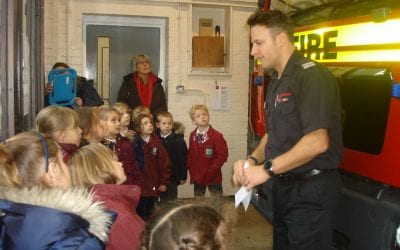KS1 Trip to Steyning Fire Station