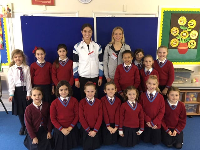 Former Olympic Gymnast's Assembly