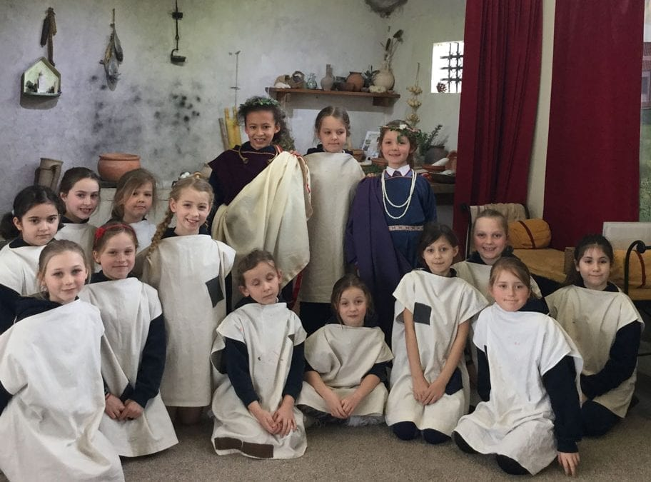 Year 3 and 4 Trip to Fishbourne Roman Palace and Gardens