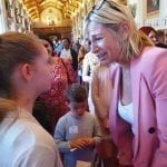 Emily H at Windsor Castle for the BBC 500 words competition.