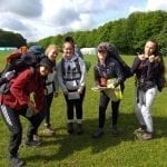 bronze dofe Group 2019 Enjoying themselves.
