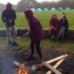 Cooking on a bonfire bronze dofe 2019