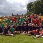 Sports Day 2019 Group Shot.