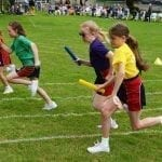 Sports Day 2019 Running.