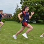 Running Sprints during sports day 2019