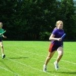 Running Races during Sports Day 2019.