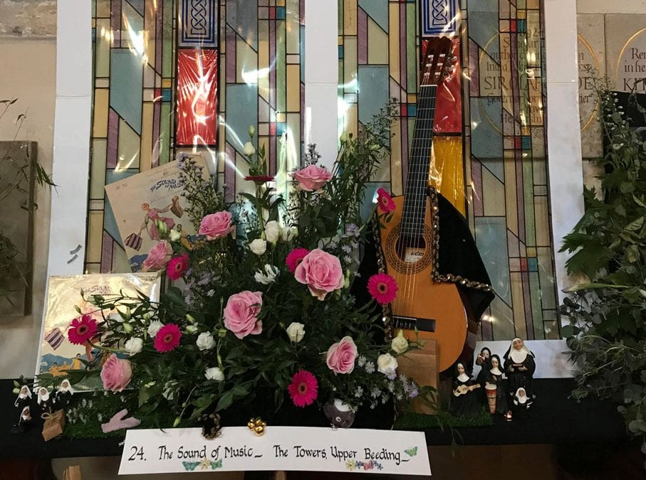 The Sound of Music Steyning Flower festival Aug 2019 Horsham District Year of Culture 2019 (2)