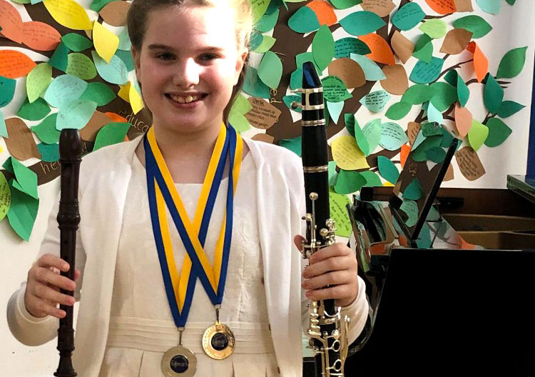 Congratulations to Lucia at the Arun Young Musicians Festival!
