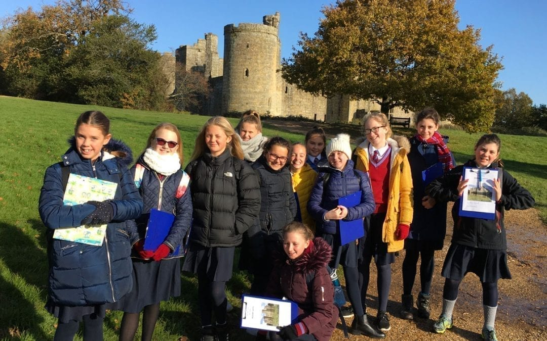 Year 7 Bodiam Castle Trip